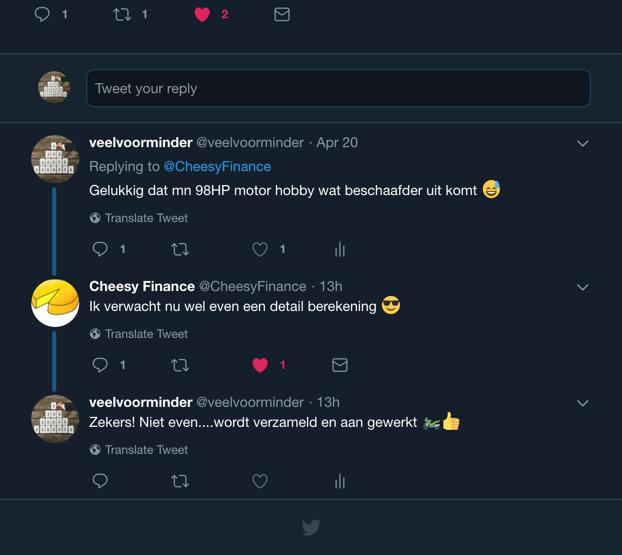 Twitter-Discussie